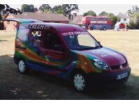 Renault kangoo - Ice cream van