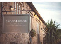 Chef de Partie, Bridge House, West Dorset