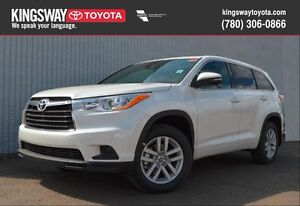 2016 Toyota Highlander LE AWD Standard Package