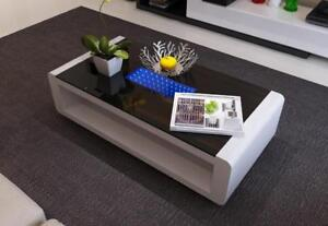 Glossy Coffee Table with LED (ME711)