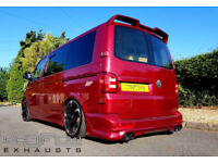VW T5 Custom Exhaust BLACK FRIDAY DEAL!!! now only £299!!!