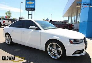 2014 Audi A4 Quattro 2.0L 4 Cyl | Leather | Alloys | Sunroof