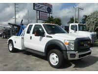2013 Ford F550 CENTURY WRECKER TOW TRUCK. 4X4 EXENTED CAB 181870 Miles White Tru