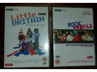 Rock Profile &Little Britain Season 1 Bundle