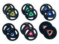 Olympic Rubber Weight Plates 5kg 15kg 10kg 20kg 25kg Premium Disc GYM Pair