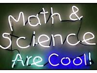 GCSE maths and Science Tutoring