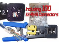 EZ-RJ45 Crimp and 100 EZ-RJ45 Connectors £59.00