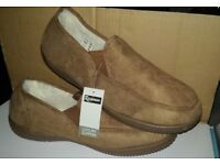 brand new mens/gents slip on slippers size 12
