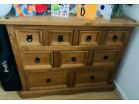 Mexican pine chest