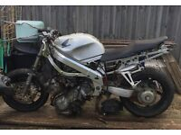 Honda motorbike not working spares/repairs parts