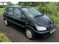 54 plate Vauxhall Zafira 1.6 Life 7 SEATER, service history & 12 mths mot GREAT CONDITION FOR AGE !