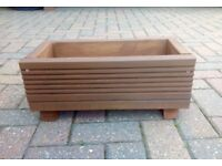 Small Handmade garden planter . Made from reclaimed decking. Pre treated. Ideal as a window box