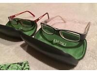 X2 pairs of glasses womens