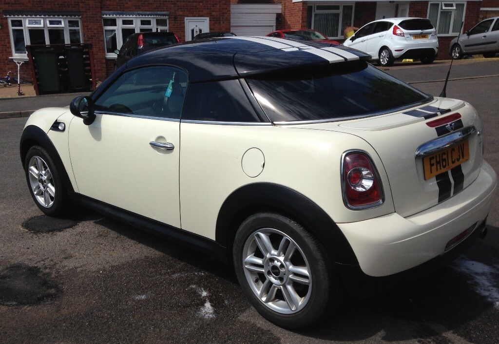 Mini Cooper Coupe 2 Seater 4 Years Old