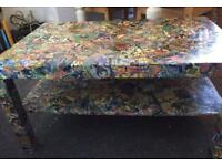 Marvel coffee table/tv stand
