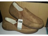 brand new with tags mens/gents slip on slippers size 12
