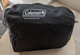 Coleman Raised Quickbed Queen, Double Airbed and pump