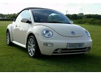 Beautiful Volkswagon Beetle Carbriolet with Cream interior For Sale!