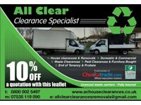 House Office Garage Clearance Disposal of Fridges Sofas Metal Rubbish * Waste Licensed & Insured *