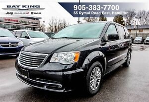 2014 Chrysler Town & Country TOURING L, DUAL DVD, SUNROOF, NAVI,