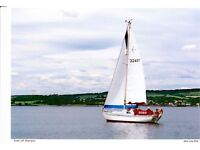 Bowman 26' long keel sloop £6500