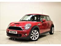 MINI HATCH COOPER 1.6 COOPER S 3d AUTO 184 BHP + 1 PREV OWNER + SERVICE HISTORY (red) 2012