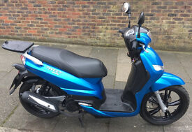 2016 Peugeot Tweet 125cc. Excellent condition, very low mileage, comes with top box, FSH, free cover
