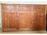 Beachwood sideboard