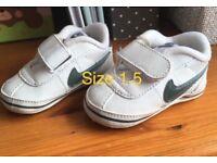 Infant Nike booties