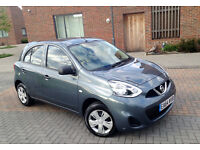 AUTOMATIC NISSAN MICRA 2014 . ONLY 15 K MILES. SERVICE HISTORY. 1 OWNER. SUPERB DRIVE.CHEAPEST IN UK