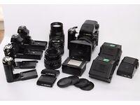 Bronica Etrsi Medium Format Camera