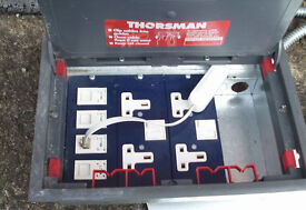 THORSMAN OFFICE FLOOR BOXES, USED BUT GOOD WORKING CONDITION