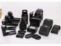 Bronica ETRS Medium Format Film Camera System