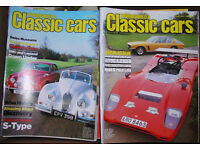"""Thoroughbred and Classic Cars"" magazine (1980s etc."