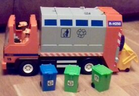 Playmobil Dustbin Lorry
