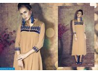 REFLECTIONS WHOLESALE STYLIST EMBROIDERED KURTIS COLLECTION