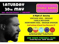 SATURDAY 20th MAY - 60s 70s SOUL / REGGAE / MOTOWN / SKA with DOUBLE BARREL – BATH