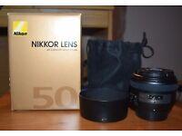 Nikon Nikkor 50mm 1.4G