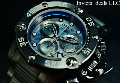 NEW Invicta Men's Reserve 52mm SEA HUNTER PROPELLER Swiss Chrono COMBAT SS Watch