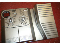 Zoom 606 Guitar Effects