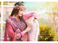 FLOWER GIRL BY VIVEK STRAIGHT SUITS WHOLESALE