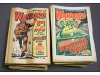 182 issues of Warlord Comic from 1 - 223