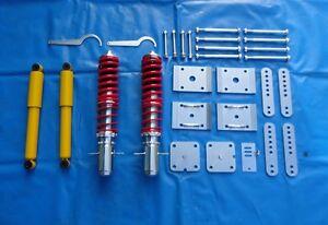 Gewindefahrwerk Fahrwerk VW Caddy 1 14D Tieferlegung TA Technix G60 1,8 1.8
