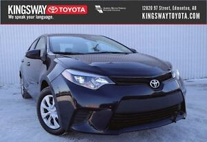 2014 Toyota Corolla CE - Air Conditioning Package