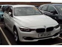 BMW 3 SERIES 318d SE Step Auto (white) 2014