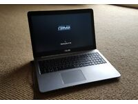 "ASUS K501UQ 15.6"", i7 2.8GHz, Gaming & Business Laptop, 12GB ram, 512GB SSD, 940Mx nvidia"