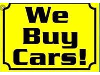 Sell your car/van - we want your car - cash in hand