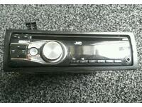 Jvc car stereo/cd player