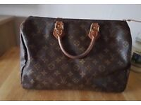 Louis Vuitton speedy 95 handbag