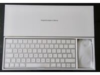 Apple Wireless Magic Keyboard and Mouse 2